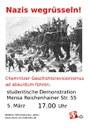 Chemnitzer Geschichtsrevisionismus ad absurdum führen!