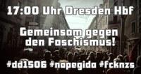 """Demonstration """"Gemeinsam gegen den Faschismus!"""""""