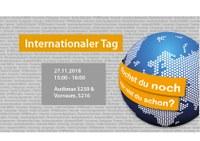 Internationaler Tag 2018