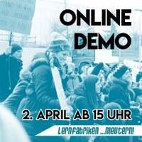 #Bildungskrise - Macht jetzt mit bei der Online-Demo!