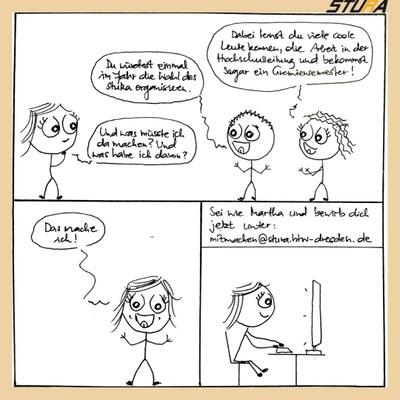 Teil 2 für den Comic zum Wahlausschuss