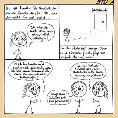 Bild 1 für den Comic zum Wahlausschuss