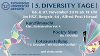 Diversity Tage TU Dresden 2018