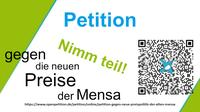 Petition: Gegen die Preiserhöhung in den Mensen